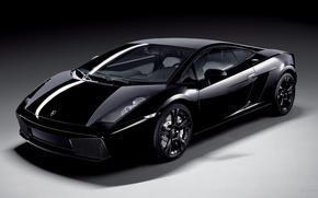 Обои Lamborghini Gallardo Nera, черный
