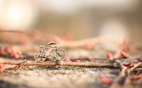 Картинка велосипед, фон, игрушка