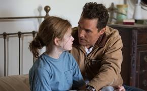 Картинка роль, Matthew McConaughey, Interstellar, Mackenzie Foy