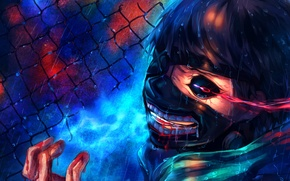 Картинка anime, art, Tokyo Ghoul, Kaneki Ken