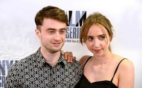 Картинка Daniel Radcliffe, 2014, What If, Zoe Kazan, New York Film Critics Series