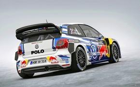 Картинка Volkswagen, WRC, фольксваген, поло, Polo R, 2015