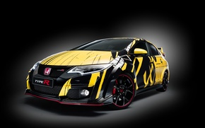 Картинка фон, Honda, хонда, Coupe, Civic, цивик