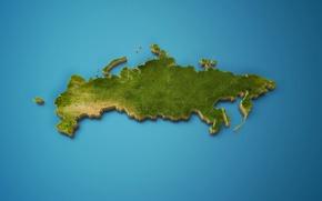 Картинка карта, Россия, страна