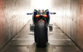 Картинка BMW, wallpaper, logo, motorcycle, mountain, comfort, official wallpaper, technology, bold lines, high technology, Next 100, ...