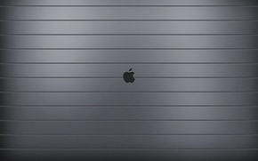 Обои Apple, Яблоко, Эпл, Сталь
