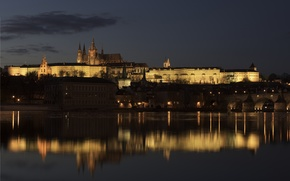 Картинка castle, Prague, czech