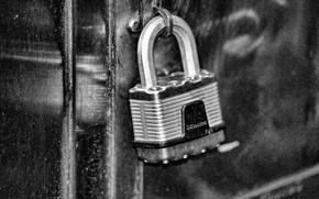 Картинка metal, lock, security