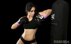 Картинка girl, workout, kickboxing
