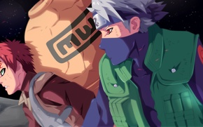 Картинка fire, battlefield, flame, game, Naruto, sky, war, anime, stars, fight, sharingan, manga, hokage, Hatake Kakashi, …