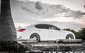 Картинка GS350, Lexus, auto, машина, авто, F-Sport, небо, Concavo, Wheels