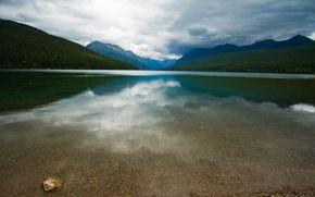 Картинка Вода, Горы, Озеро