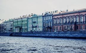 Картинка река, канал, Russia, набережная, питер, санкт-петербург, St. Petersburg, река нива, английская набережная