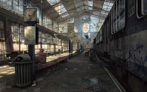 Картинка рендеринг, игры, Half-Life 2, City 17, UDK, Unreal Engine, Logithx