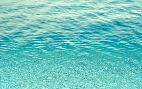 Картинка море, вода, прозрачность, океан, дно, texture, фон на рабочий