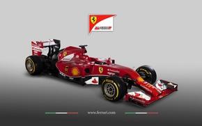 Картинка Ferrari, Formula1, 2014, F14 T