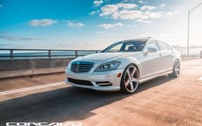 Картинка машина, авто, оптика, Mercedes Benz, auto, S550, Wheels, Concavo