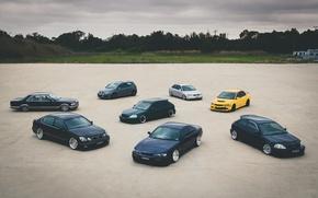Картинка Audi, Lexus, Volkswagen, Mitsubishi, Mercedes, Honda