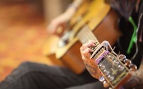 Картинка музыка, гитара, Уличный музыкант