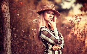 Картинка Екатерина, шляпка, губки, Катя, Lods Franck