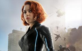 Картинка фильм, Scarlett Johansson, black widow, Avengers: Age of Ultron, Мстители: Эра Альтрона