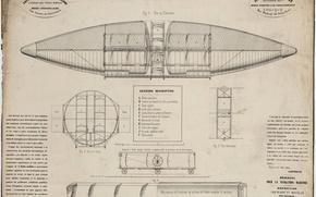 Картинка чертеж, Montgolfiere, Navigation aerienne