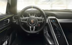 Картинка Porsche, 918, Spyder Interior