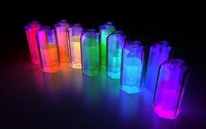 Обои цвет, 152, подсветка, жидкость