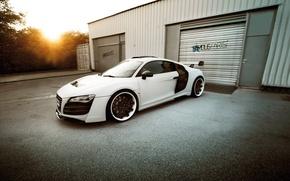 Картинка Audi, Speed, White