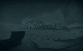 Картинка Кресло, Пещера, Постапокалипсис, Под водой, Mad Max, Клад