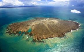 Картинка море, остров, Бразилия, Баия, архипелаг Аброльюс, Каравелас, Первый морской Национальный парк Бразилии