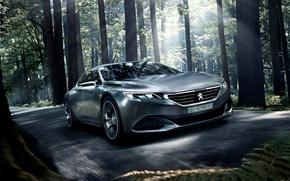 Картинка Peugeot Cars, Peugeot Concept, Peugeot Exalt Concept Wallpaper, Concept cars, Peugeot Exalt Concept, Peugeot Wallpaper