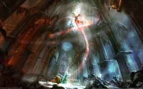 Картинка Троица Души Zill O'll, Борьба, Рэй