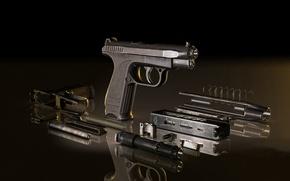 Картинка пистолет, ГШ-18, Грязев и Шипунов