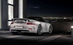 Картинка 911, Porsche, порше, Carrera, GTS, Cabriolet, 991, TechArt, 2015