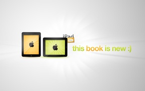 Обои apple, новинка apple, iPad