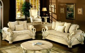 Картинка design, style, interior, home, luxurious