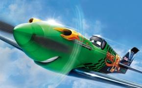Картинка cinema, animation, fire, flame, Disney, sky, aircraft, tuning, cartoon, eye, film, adventure, mouth, comedy, Ripslinger, …