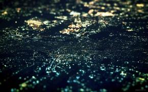 Картинка ночь, огни, прекрасное далеко