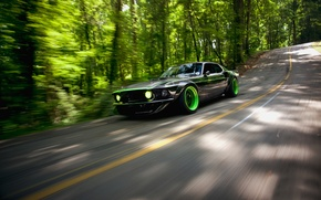 Картинка дорога, природа, Mustang, Ford, RTR-X