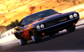 Обои Dodge, Legend, Musclecar, Challenger