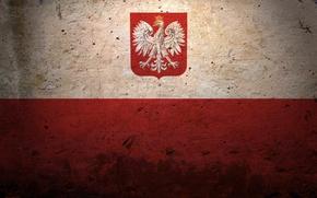 Картинка флаг, герб, польша