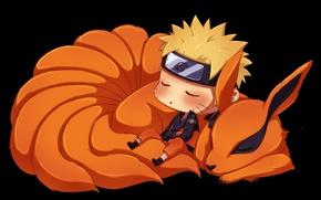 Картинка naruto, fox, anime, ninja, manga, shinobi, kyuubi, uzumaki naruto, naruto shippuden, uzumaki, kurama, kurama no …