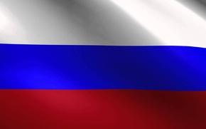 Картинка Флаг, Москва, Россия, триколор, родина, патриотизм, патриот