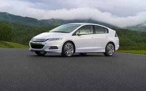 Картинка Concept, 2008, Хонда, Honda, Insight, гибрид, 5-door, hatchback, хэтчбэк, пятиместный, пятидверный, compact car, 5-passenger