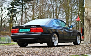 Картинка BMW, black, BMW 8, bmw 8-series E31