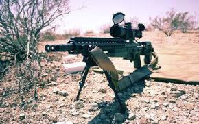 Картинка оружие, оптика, винтовка, карабин, штурмовая, сошка, полуавтоматическая