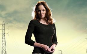 Картинка Сара Уэйн Кэллис, актриса, ходячие мертвецы, the walking dead, Sarah Wayne Callies
