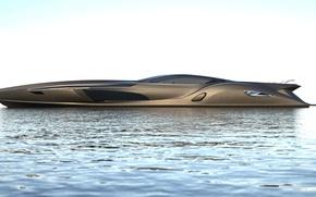 Картинка океан, Gray Design, Strand Craft 122, супер яхта