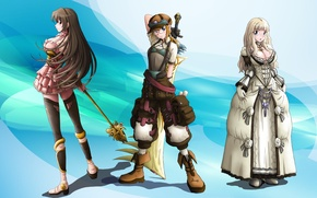 Картинка игра, аниме, арт, перс, герои